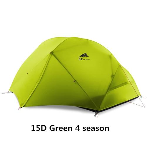 3F UL GEAR 2 Person Camping Tent Ultralight Kamp Tents tenda tente barraca de acampamento - HuntPost Marketplace