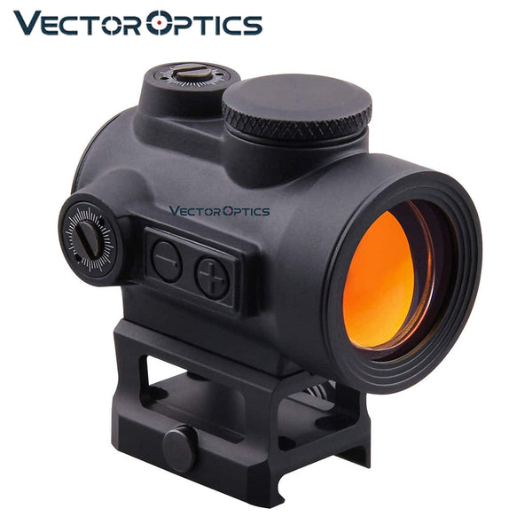 Vector Optics Centurion 1x30 Red Dot Sight Scope Hunting Riflescope 3 MOA 20000 Hour Runtime 12ga .223 AR15 5.56 7.62x39 .308win