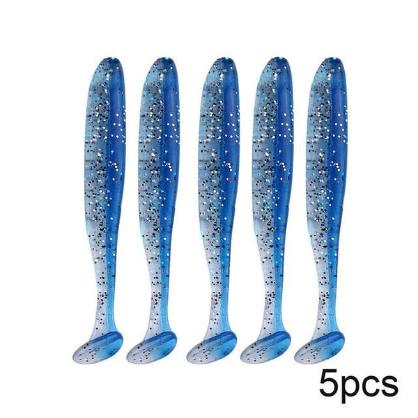 QXO Silicone Soft Lures Piece Artificial Tackle Bait 7cm 2g Goods For Fishing Sea Fishing Pva Swimbait Wobblers - HuntPost Marketplace