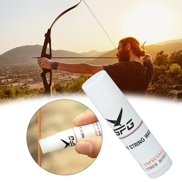 Bow String Wax Archery Bowstring Wax Tube Protector On For Hunting Crossbow Compound Recurve Bow String Lube Tubular Paste