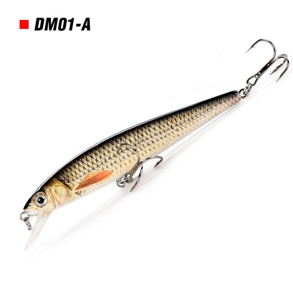 Minnow Fishing Lure Wobblers for Pike Fishing Accessories 10cm 11g Hard Bass Lure Fishing Equipment Winter Fishing Balance Pesca