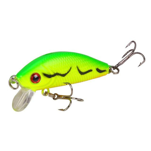 1PCS Minnow Fishing Lure 50mm4.2g Topwater Hard Bait Wobbler Jig Bait Crankbait Carp Striped bass Pesca Fishing tackle SwimBait - HuntPost Marketplace