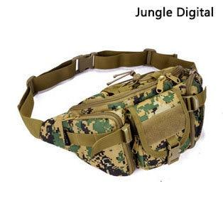 Tactical Waist Bag Waterproof Fanny Pack Hiking Fishing Sports Hunting Bags Outdoor Camping Sport Molle Army Bag Military Borse - HuntPost Marketplace