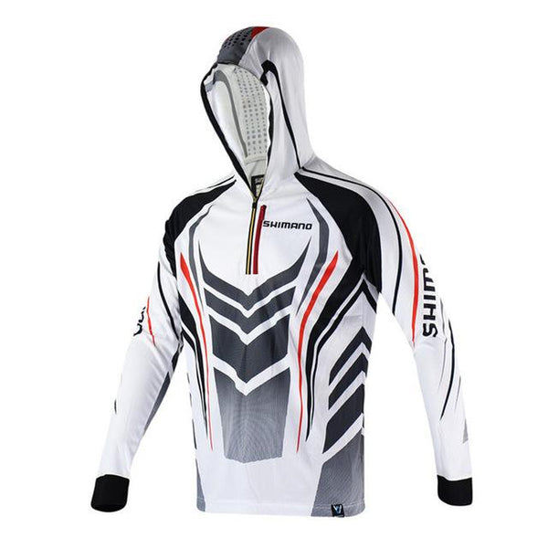 New Summer Autumn Shimanos Fishing Clothes Anti-Mosquito Hood Long Sleeve Fishing Jerseys Anti-Uv Fast Drying Breathable Hoodie - HuntPost Marketplace