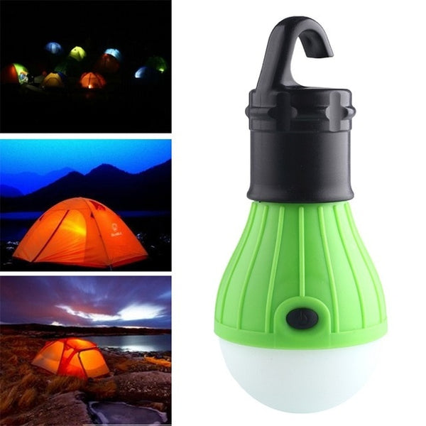 Hot Sale Portable Soft Light Outdoor Hanging LED Camping Tent Light Bulb Fishing Lantern Lamp  Drop ship