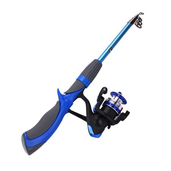 1.2m/1.4m Carbon Fiber Rod Superhard Boat Ice Fly Lure Fishing Rod With High Quality Fishing Reel Fishing Tackle set De Pesca 8 - HuntPost Marketplace