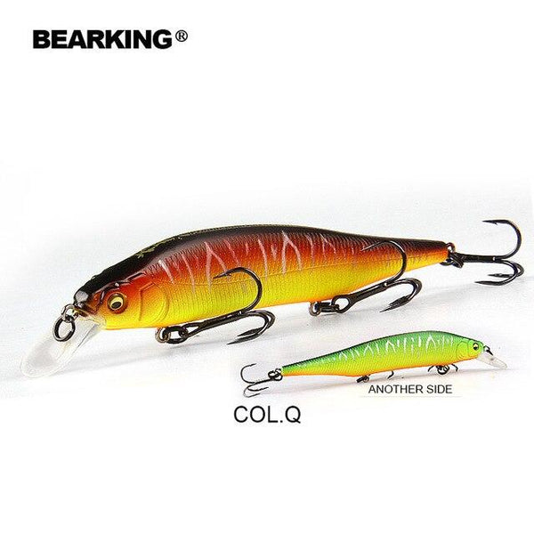 BEARKING Hot model 115mm 15g Tungsten weight system SP fishing lures assorted colors minnow crank wobbler crank bait - HuntPost Marketplace