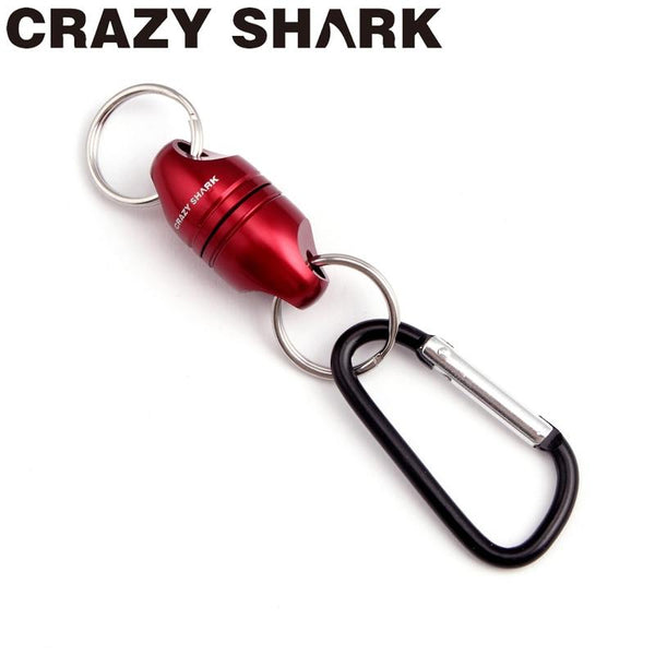 Crazy Shark Magnetic Net Release Aluminum Shell for Fly Fishing Tools Fishing Holder Strong Magnet max 7.7lb/3.5kg Accessories - HuntPost Marketplace