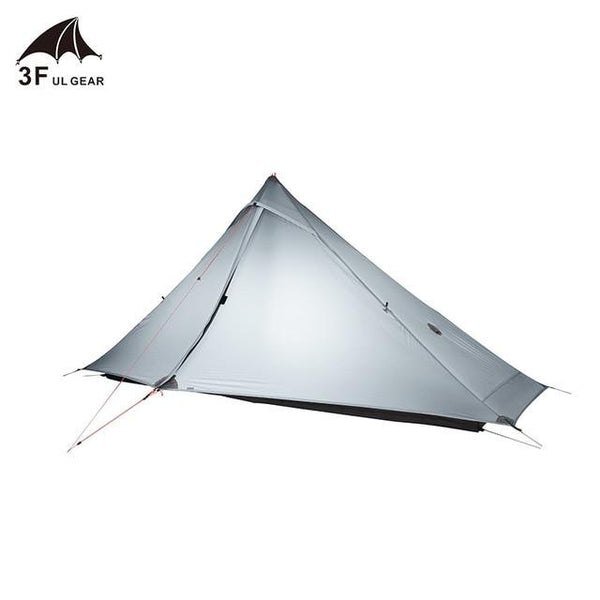 3F UL Gear Rodless Tent Single Person Waterproof Ultralight 20D Silicone 3 Season  For Outdoor Camping And Hiking Lanshan 1 Pro - HuntPost Marketplace