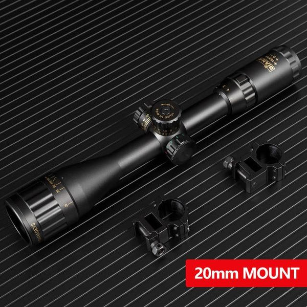 6-24X44 Tactical Optic Cross Sight Green Red Illuminated Riflescope Hunting Rifle Scope Sniper Airsoft Air Guns - HuntPost Marketplace