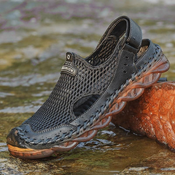 Water Shoes Sneakers Men Non Slip Breathable Aqua Shoes Hiking Climbing Upstream Shoes Seaside Footwear Men Fishing Sneakers - HuntPost Marketplace