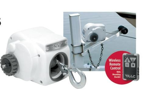 Marine Salt Water Small Craft 12V Electric Trailer Winch with cable For Boat Up to 22ft 7500LBS (3175KGS) - HuntPost Marketplace