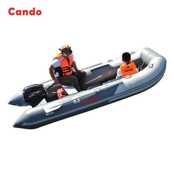 CANDO VIB270 Upgrade Fishing Boat PVC Rowing Racing Boat Kayaking Ship For Outdoor Fishing Water Skiing Ship Inflatable Boats - HuntPost Marketplace