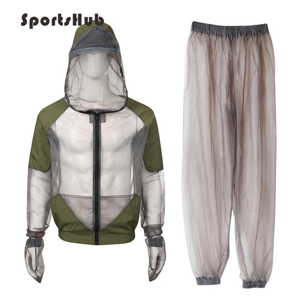 SPORTSHUB  Anti-mosquito Ultra-Light Fishing Clothings Suits Breathable Mesh Fishing Shirts Fishing Clothes Jacket FT0080 - HuntPost Marketplace