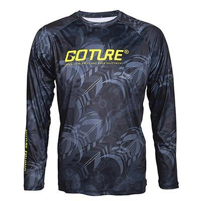 Goture Fishing Clothing Long Sleeve M/L/XL/XXL Quick-Dry Breathable Soft Fabric Anti-UV T-shirt Man Sports Clothes for Fishing - HuntPost Marketplace