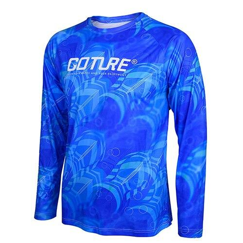 Goture Long Sleeve Fishing Clothing Quick-Drying Sun UV Protection T Shirt  Vests Sports Clothes Double Colors Available - HuntPost Marketplace