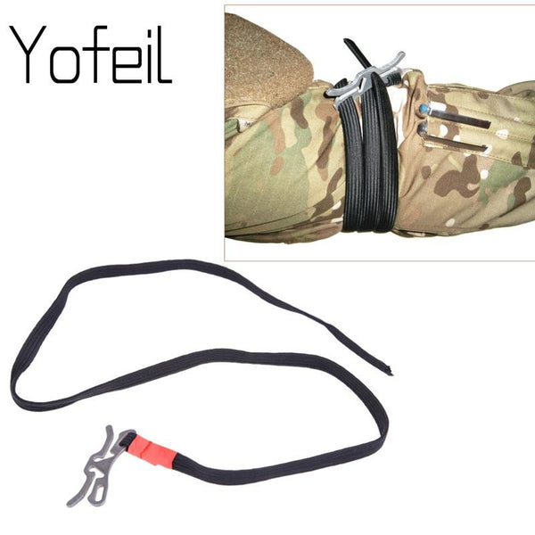 Military Regulation Fast Tourniquet Stop Poison Belt Single Handed Operation Light Weight EDC Outdoor Survival Gear Equipment - HuntPost Marketplace