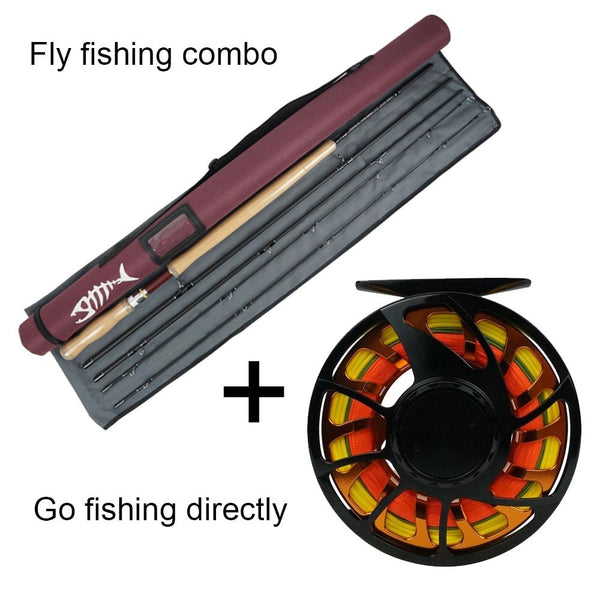NEW Aventik All Times IM12 Nano Carbon Fiber Short Switch Fly Rods And Fly Fishing Rod Combo With Fly Line Backing Line Sets - HuntPost Marketplace