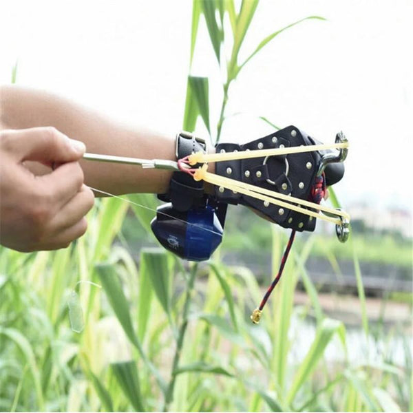 Fishing slingshot Set powerful archery shooting hunting set catapult combination arrow sling shot shooter fish new outdoor - HuntPost Marketplace