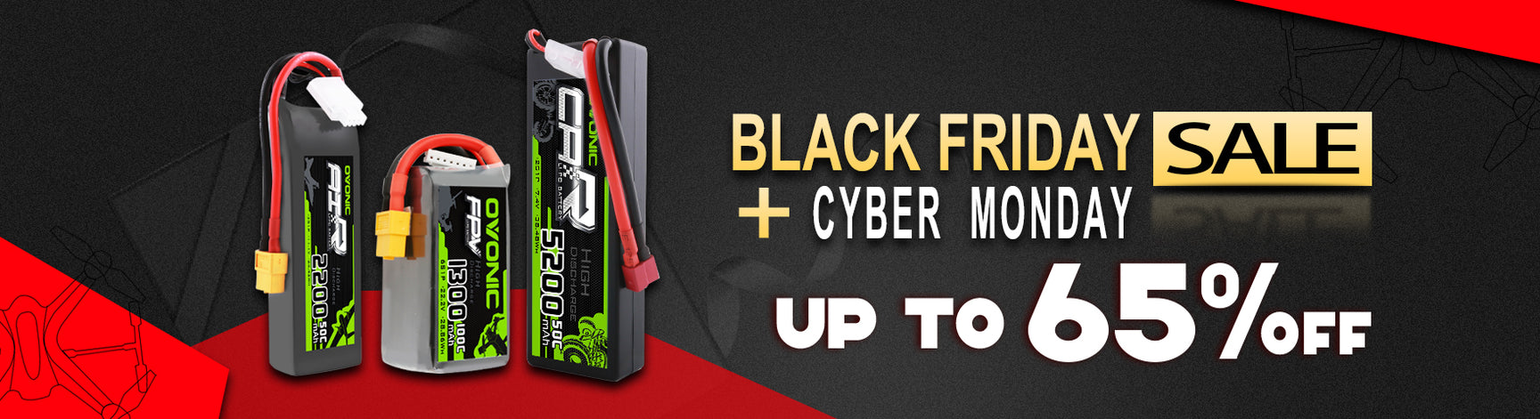 Ovonic Black Friday & Cyber Monday Sales