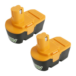 Ovonic 3.8Ah 18V Ryobi p201 replacement battery for Ryobi 18v cordless drill(2packs) - Ampow