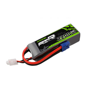 Ovonic 2200mah 3S 11.1V 50C Lipo Battery Pack with EC3 Plug for RC model - Ampow