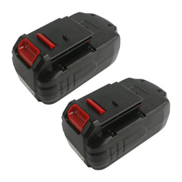Ovonic 3.8Ah 18V Porter Cable PC18b battery replacement for all Porter Cable 18V Power Tools(2packs) - Ampow