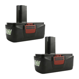 Ovonic 19.2V 3.8Ah for Craftsman 19.2 volt C3 battery replacement (2packs) - Ampow