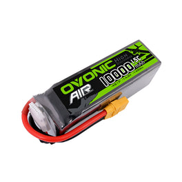 Ovonic 14.8V 15C 4S 10000mAh LiPo Battery Pack with XT90 Plug for Multirotors Drone - Ampow