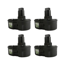 Ovonic 3.8Ah 18V DeWalt DC9096 DC9098 DE9039 for DeWalt DC970 replacement battery(4packs) - Ampow