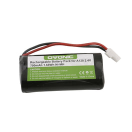 Ovonic 700mAh 2.4V 2-cell NIMH battery with Type 5264 plug for cordless phone - Ampow