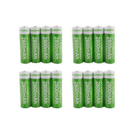 Ovonic AA 2800mAh NIMH  battery [16packs] - Ampow