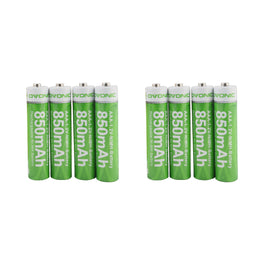 Ovonic AAA  850mAh NIMH  battery [8packs] - Ampow