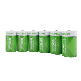 Ovonic 10000mAh NIMH-D  battery [6packs] - Ampow