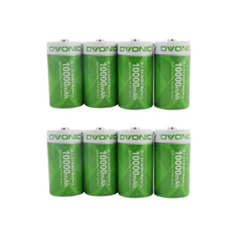 Ovonic 10000mAh NIMH-D  battery [8packs] - Ampow