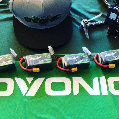 Ovonic 22.2V 1550mAh 6S 100C LiPo Battery Pack