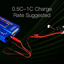 Ovonic 1550mah 4s 80c  - Safe Charge Rate