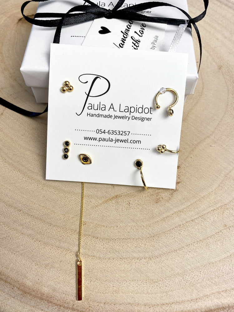 Pack 6 earrings*9