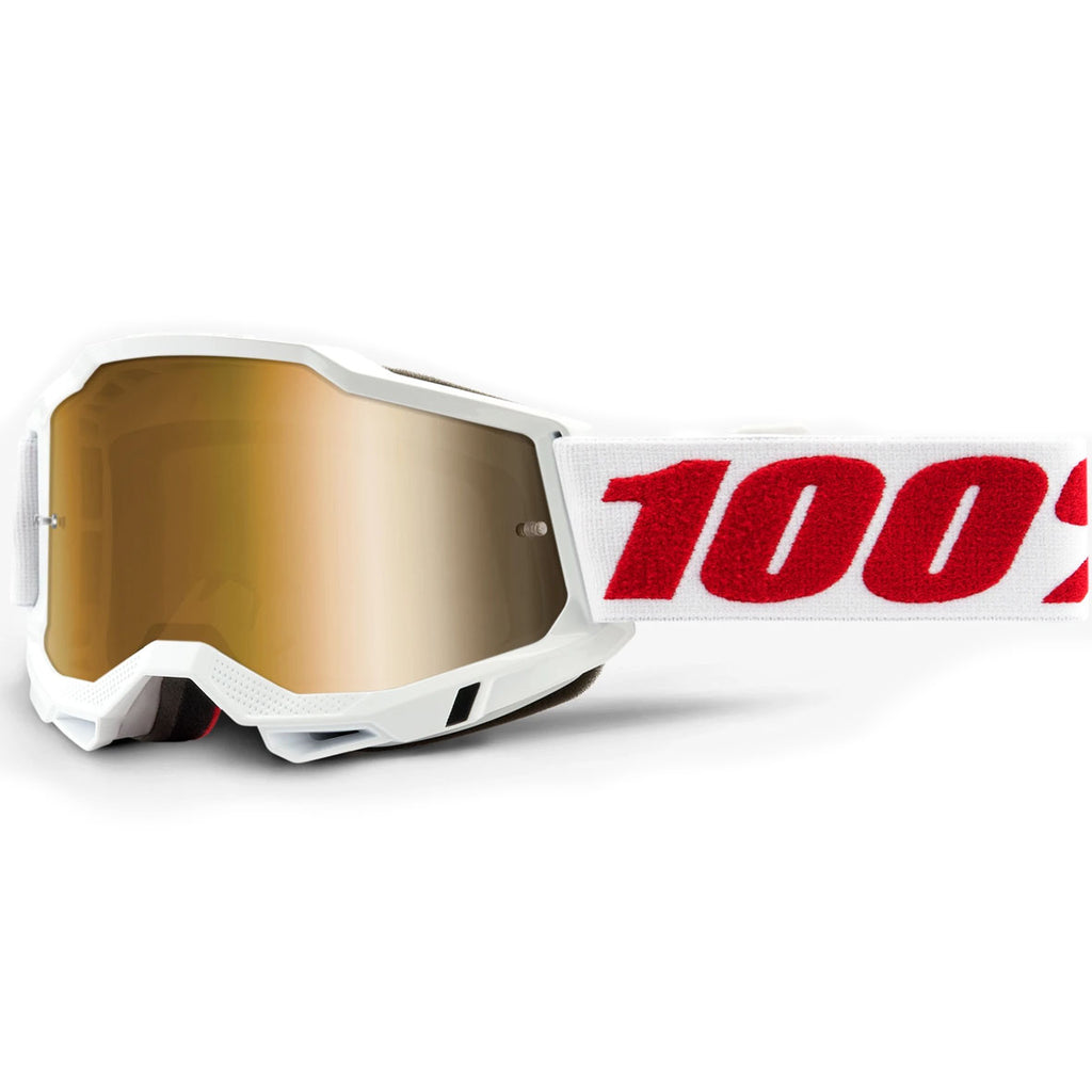 New 100% Youth Accuri 2 Denver Goggles (True Gold Lens)