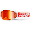100% Armega Regal Goggles (Hiper Red Mirror Lens)
