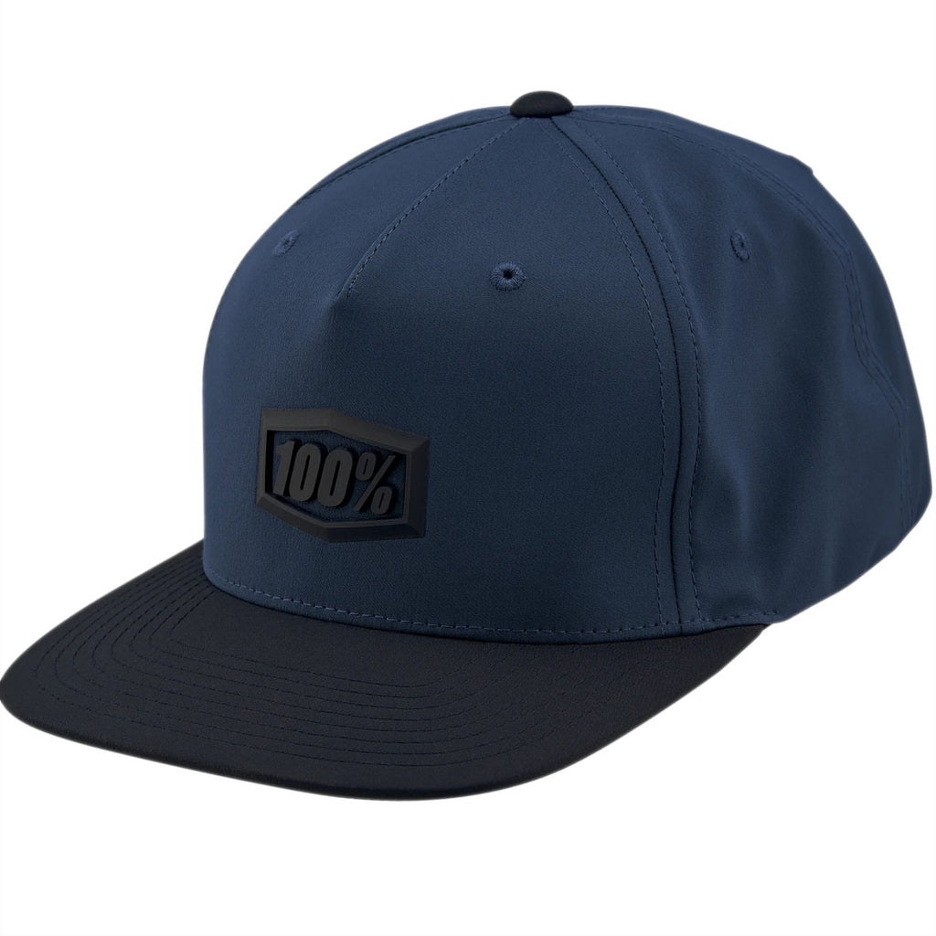 100% Enterprise Snapback Cap (Blue)