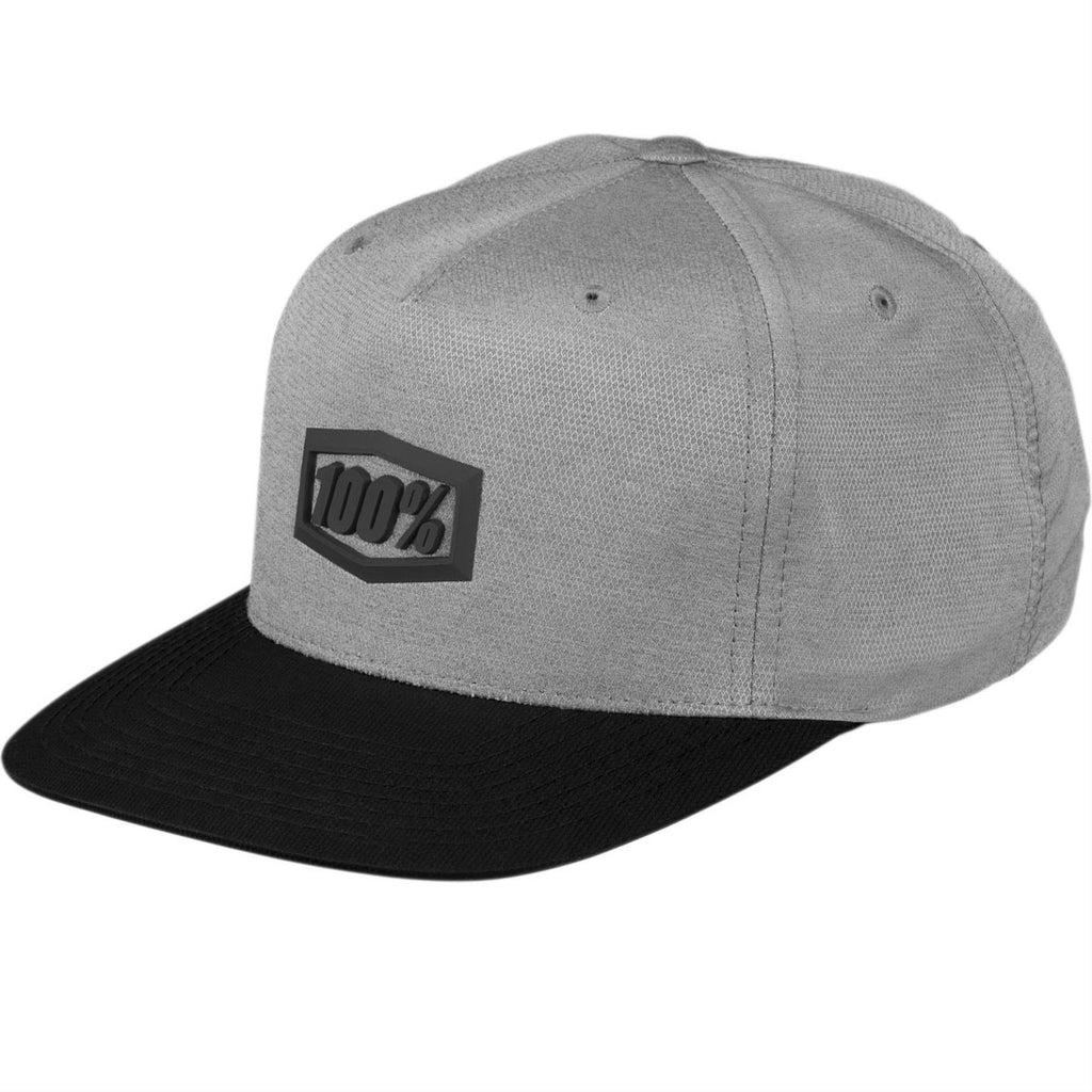 100% Enterprise Snapback Cap (Charcoal)