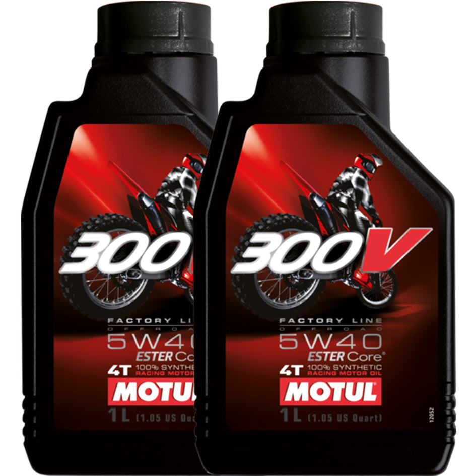 *Multi-Pack* 2 x 300V 4T Off Road 5W40 (1 Litre)