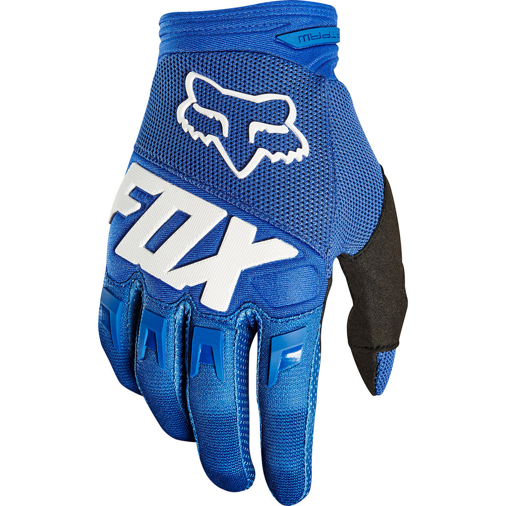 Fox Dirtpaw Race Gloves (Blue)