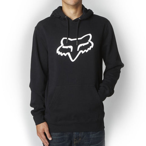 Fox Legacy Fox Head Pullover Hoodie (Heather Black)