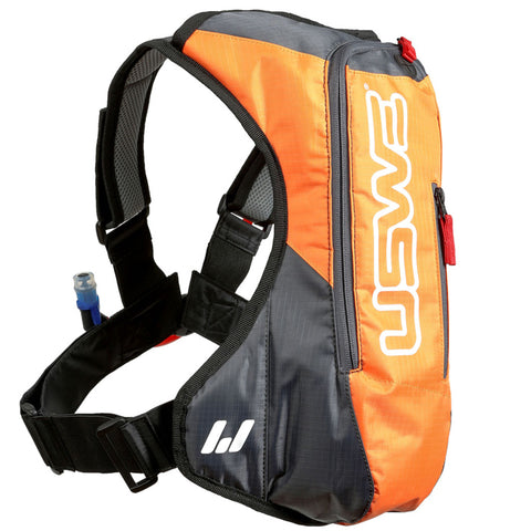 USWE A2 3L Hydration Pack (Orange/Grey)