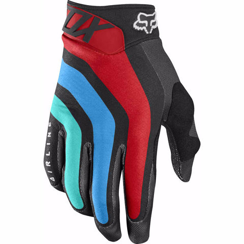 MX17 Fox Airline Seca Glove (Grey/Red)