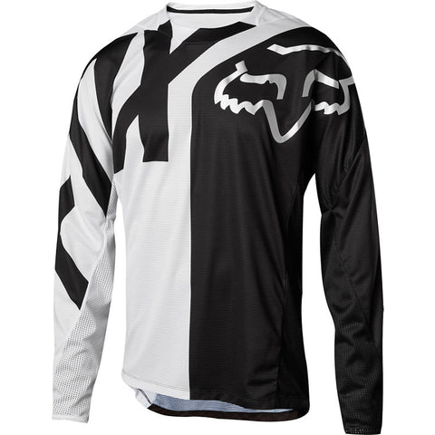 MTB Fox Demo LS Preme Jersey (White/Black)