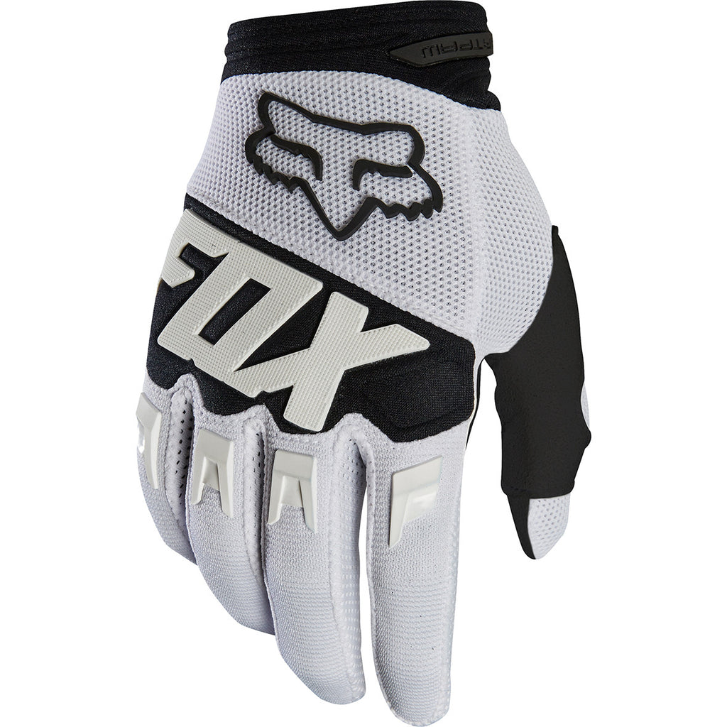 Fox Dirtpaw Race Gloves (White)