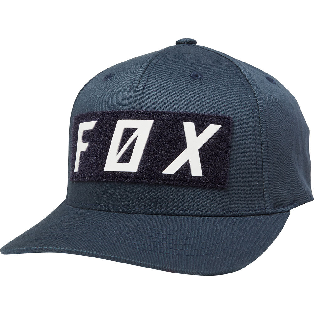 Fox Backslash Snapback Cap (Navy)